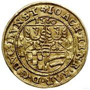 1 Ducat - Joachim, Heinrich IV and Karl II – avers