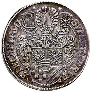 1 Thaler - Karl II – revers