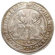1 Thaler - Johann Christian & Georg Rudolf – avers
