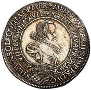 1 Thaler - Karl II (Mort de Karl II) – avers