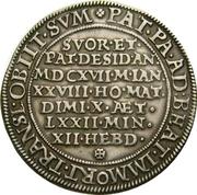 ½ Thaler - Karl II – revers