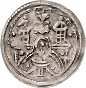 1 Brakteat - Kuno I. -  avers