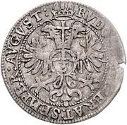 3 kreuzer André d'Autriche – revers