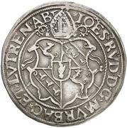 ½ Guldentaler - Johann Rudolf Stör von Störenberg – avers