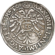 ½ Guldentaler - Johann Rudolf Stör von Störenberg – revers