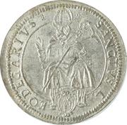 1 thaler Leopold Wilhelm d'Autriche – avers