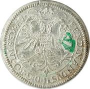 1 thaler Leopold Wilhelm d'Autriche – revers