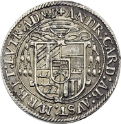 ½ Guldenthaler - Andreas von Österreich – avers