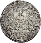 ½ Guldenthaler - Andreas von Österreich – revers