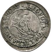 1 Batzen - Leopold Wilhelm von Österreich – avers