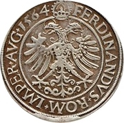 1 Guldenthaler - Johann Rudolph Stör von Störenberg – revers
