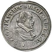 ¼ thaler Leopold d'Autriche – avers