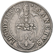 1 thaler Léopold Guillaume d'Autriche – revers