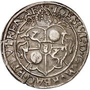 ½ Guldenthaler - Johann Ulrich von Raitenau – avers
