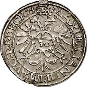 ½ Guldenthaler - Johann Ulrich von Raitenau – revers