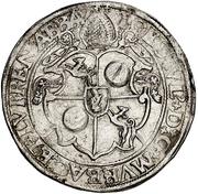 1 Guldenthaler - Johann Ulrich von Raitenau – avers