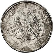 1 Guldenthaler - Johann Ulrich von Raitenau – revers