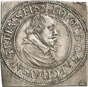 ¼ Thaler - Leopold of Austria (Klippe) – avers