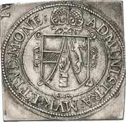¼ Thaler - Leopold of Austria (Klippe) – revers