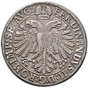 1 thaler Léopold Guillaume d'Autriche – avers