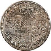 1 thaler Leopold d'Autriche – revers