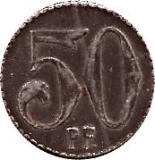 50 pfennig - Murrhardt – revers