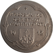 10 pfennig - Murrhardt – avers
