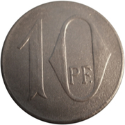 10 pfennig - Murrhardt – revers