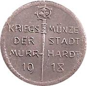 5 pfennig - Murrhardt – avers