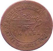 ¼ Anna - Faisal (sans couronne) – revers