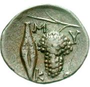 Bronze Æ17 (Mykonos) – revers