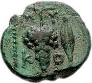 Bronze Æ15 (Mykonos) – revers