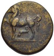 Bronze Æ12 (Mylasa) – avers
