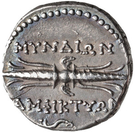 Hemidrachm - Amphyktion (Myndos) – revers