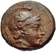 Bronze Æ16 (Myrina) – avers