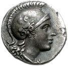 Hemidrachm (Myrina) – avers
