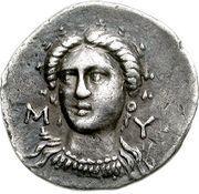 Hemidrachm (Myrina) – revers
