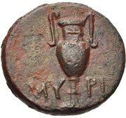 Bronze Æ16 (Myrina) – revers