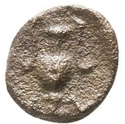 Bronze Æ7 (Myrina) – revers