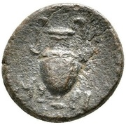 Bronze Æ13 (Myrhina) – revers