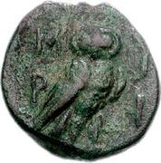 Bronze Æ17 (Lemnos; Myrina) – revers