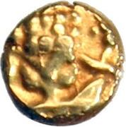 1 Fanam (Kanthirava) – avers