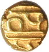 1 Fanam (Kanthirava) – revers