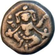 ⅔ Pavali - Krishnaraja Wadiyar III – avers