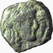 Prutah - Rabbel II and Hagru – avers