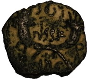 Prutah - Rabbel II and Shuqailat – revers