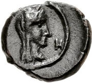 Æ11 - Aretas IV & Shaqilath (Petra) – revers