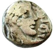 Drachm- Rabbel II and Gamilat -  avers
