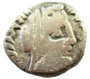 Drachm- Rabbel II and Gamilat – revers