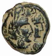 Prutah - Malichus II and Shaquilath – avers